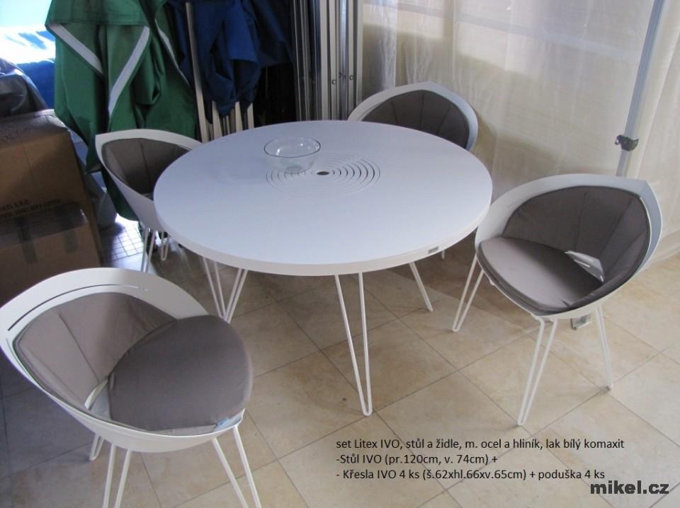 Stůl a židle set IVO Litex