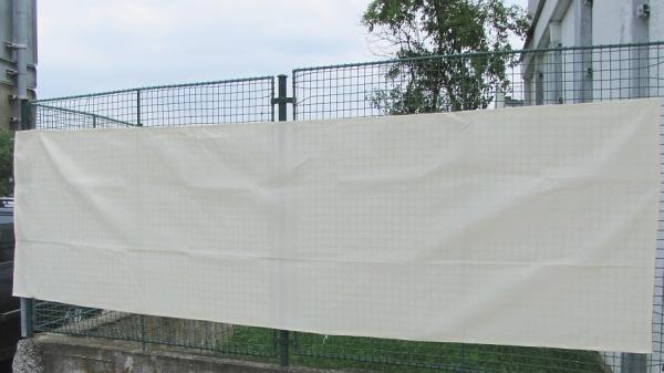 Stínící sítě PloteS bílé - ukázka