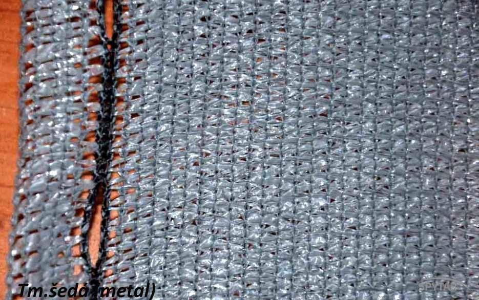 Stínící sítě na plot PloteS 200g/m2 šedý