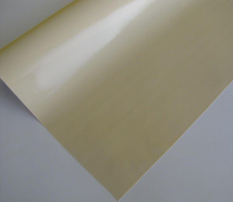 PVC plachtovina krémová