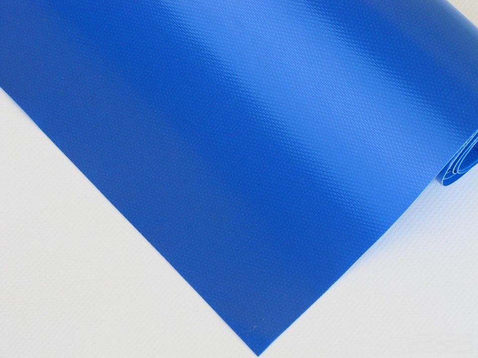 PVC plachtovina modrá