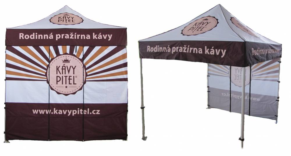 Reklamní stan s potiskem 2,5x2,5m