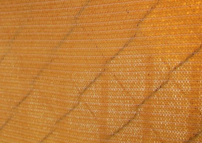 Stínící plachta na plot 230g/m² písková