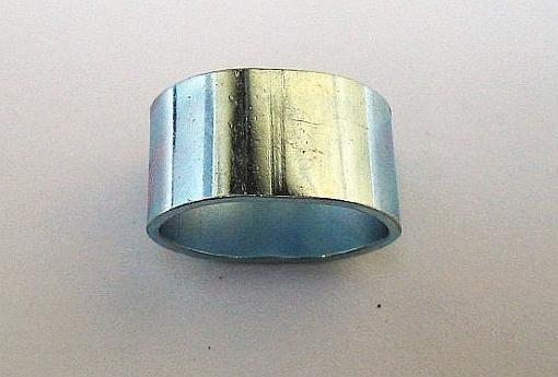 Škrtící hliníková spona na gumové lano