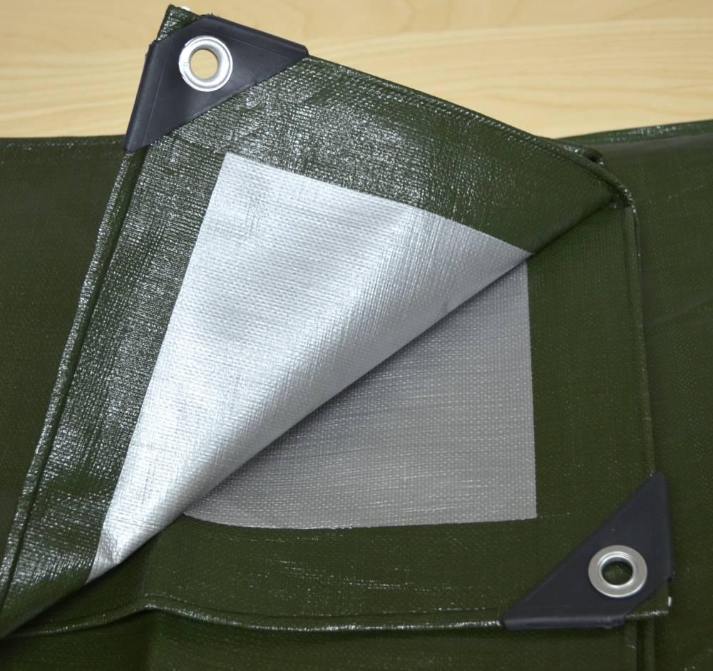 PE 250g/m² olivově zelená/šedá
