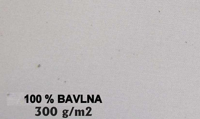 Bavlna 300g/m² smetanová