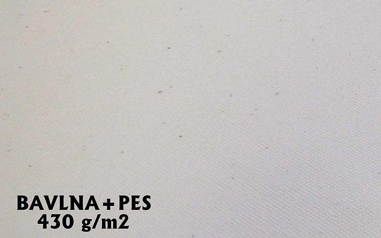 Bavlna + PES 430g smetanová