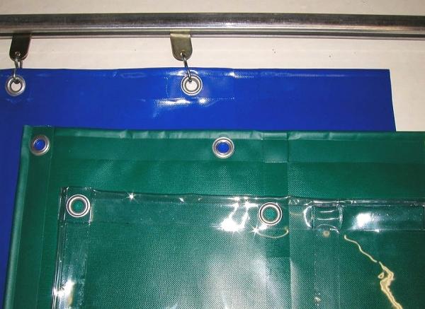 Ochranné závěsy z PVC - výroba na zakázku
